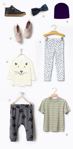 how to wear it: mixed prints baby style