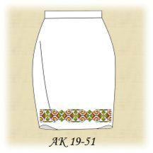 Заготовка к юбке АК 19-51