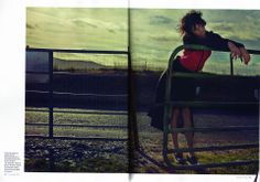 Image Magazine Nov : Stylist Paula Hughes : LARA Bomber in Acid Red Neoprene + Black Cashmere Knit Cashmere, Stylists, Magazine, Knitting, Red, Image, Black, Cashmere Wool, Tricot