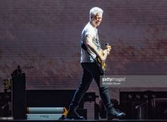 Adam Clayton of U2 performs on stage at Lincoln Financial Field on June 18, 2017 in Philadelphia, Pennsylvania.
