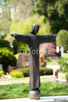 """Laden Sie das lizenzfreie Foto """"Jesus-Skulptur #1368"""" von jrgn_flow zum günstigen Preis auf Fotolia.com herunter. Stöbern Sie in unserer Bilddatenbank und finden Sie schnell das perfekte Stockfoto für Ihr Marketing-Projekt!"""