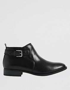 6ddeb5881c5 Leather Block Heel Ankle Boots Block Heel Ankle Boots