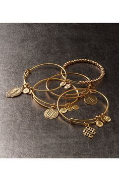 Alex and Ani 'Eye of Horus' Expandable Wire Bangle | Nordstrom