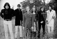 Crosby, Stills, Nash & Young at Woodstock, 1969.