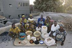 20 familias fotografiadas con la compra de la semana que reflejan la desigualdad alimentaria en el mundo | muhimu