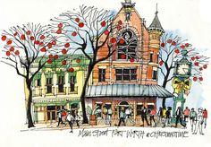 Fort Worth Main Street Christmas | Urban observer William H.… | Flickr