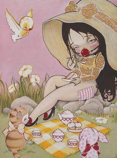 Nataly Abramovitch a.k.a. Kukula – Perversa Inocencia (Tea for Anna)