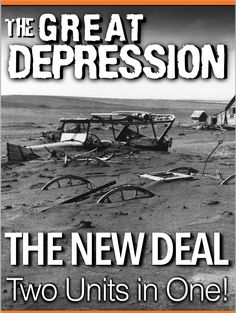 Two Units in One! Entire Great Depression/New Deal Unit Bundle includes Depression Powerpoints and New Deal Powerpoints, Handouts, Quizzes, Lesson Plans included. Each lesson begins with a warm-up, and continues with PowerPoint notes, primary source document activities and a Exit Ticket. Both the Depression unit and the New Deal unit end with a crossword puzzle review and an assessment(Test or Quiz). A project on Social Security is also included. Powerpoint lectures presenter. lecture notes.