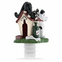 """The Greater Caper Hand Painted Sculpted Wine Bottle Stopper w/ Ridged Rubber Seal by HomeAndWine.com. $13.99. Attached rubber seal.. Dimensions: 2 1/4"""" x 3 1/2"""". This is hand painted.. The hand painted wine bottle stopper it has great caper with attached ridged rubber seal. Size is 2 1/4"""" x 3 1/2"""".. Save 19% Off!"""