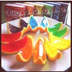 orange peel jello shots
