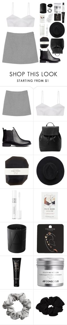 """""""i'm the one """"for a good time call"""", phone's blowin' up, they're ringin' my doorbell"""" by nemophxlist ❤ liked on Polyvore featuring Monki, Alice McCall, H&M, MANGO, Pelle, Christian Dior, NARS Cosmetics, Topshop and River Island"""