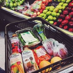 Groceries, replace bolthouse with Suja green juice and kombucha unsweetened
