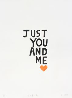 just you and me | via castle