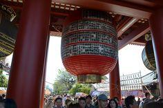 The big chōchin paper lantern, Sensoji, Asakusa Tokyo