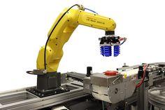 Shuttleworth combineert transportsysteem met FANUC LR Mate 200iD collaboratieve robot - http://visionandrobotics.nl/2016/11/02/shuttleworth-combineert-transportsysteem-met-fanuc-lr-mate-200id-collaboratieve-robot/