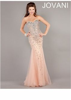 2013 Jovani Sequin Prom Gown 6837