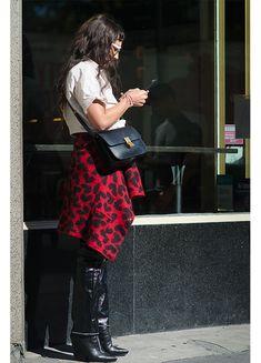 New York, Street Style, Floral, Skirts, Fashion, Moda, New York City, Urban Style, Skirt