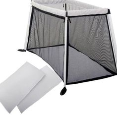 Phil and Teds TRV36300 Traveller V3 Cot Crib - Silver with Sheet Set - Click image twice for more info - See a larger selection of baby playard at http://zbabyproducts.com/product-category/baby-playard/ - baby, infant, nursery, kids, child, toddler, baby products, baby gift ideas.