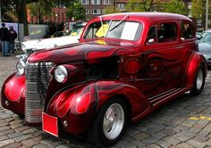 51 - Red Flames