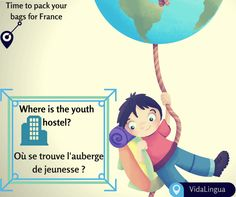 There are a lot of stories out there waiting for you to live them. So don't let language be a barrier.  Download the free version of our app on- http://vidalingua.com/ and learn quick phrases that'll help you on your next backpacking trip to France.VidaLingua is your must have travel companion!