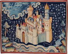 Modern Reproduction of Apocalypse Tapestry - The New Jerusalem