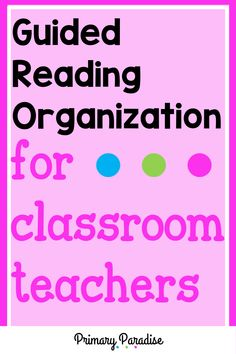 Small group organization that actually works and keeps your materials at your fingertips. Perfect for guided reading & intervention teachers! Small Group Organization, Guided Reading Organization, Guided Reading Activities, Back To School Organization, Teacher Organization, Teacher Hacks, Teaching Reading, Teaching Ideas, Classroom Procedures