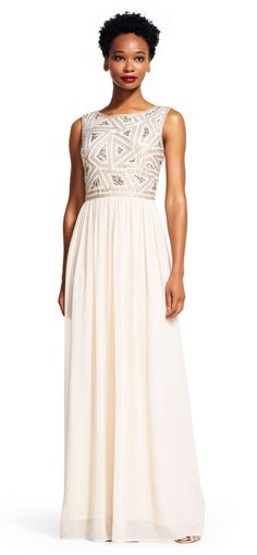 f4ff6dc7ef6bf Alfred Sung - D569 Bridesmaid Dress In Champagne