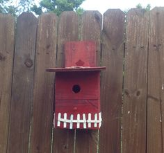 Birdhouse made from pallets