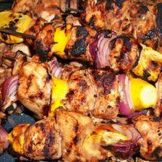 Tamarind Marinated Chicken Kabobs