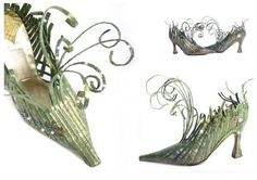 Frosted Petunias: a midsummer altered fairy shoe challenge