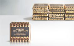 Mayan inspired chocolate packaging