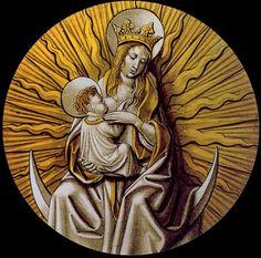 Virgen de la Leche con Niño