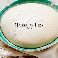 Massa de pizza básica