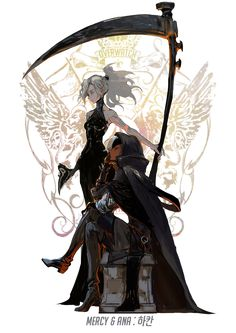 Overwatch Characters As Fantasy Heroes