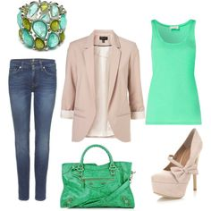 everything looks cute with a blazer