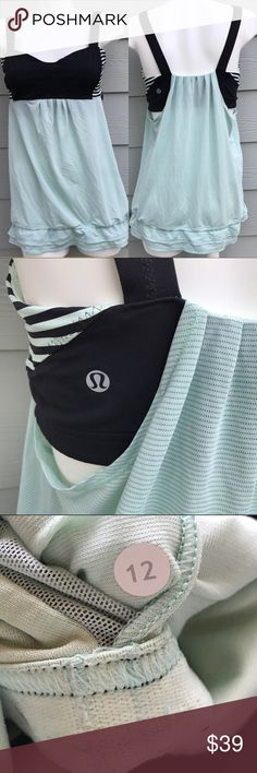 Lululemon 'Back On Track' Workout Tank Top In good condition lululemon athletica Tops Tank Tops