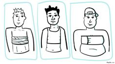 In a Bind Over Chest Health: Harm Reduction Tips for Chest Binding, for trans men and gender non-conforming people who have breasts.