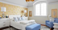 The War Against Master Bedroom Design Color Schemes Inspiration 268 - untoldhouse Bedroom Colour Palette, Bedroom Color Schemes, Bedroom Colors, Bedroom Decor, Bedroom Ideas, Bedroom Inspiration, Design Inspiration, Design Ideas, Periwinkle Bedroom