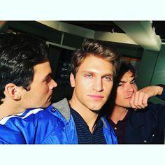 Ian, Keegan e Tyler
