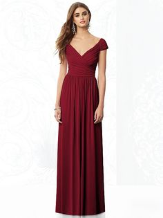 Also like this color and style After Six Bridesmaids Style 6697 http://www.dessy.com/dresses/bridesmaid/6697/#.Utw2qn88KK0