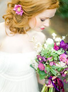 Pretty Pops of Purple #girly #accessories +++For tips and advice on #trends and fashion, Visit http://www.makeupbymisscee.com/
