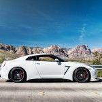 Stunning White Nissan GTR