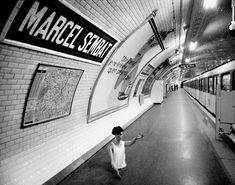 Janol Apin - Métropolitain - Marcel Sembat Metro Paris, Pray For Paris, Subway Art, France, Top Photo, Marcel, Train, Building, Photography