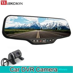 "TOPSOURCE New 7"" Special 3G CAR Mirror Rearview Car DVR Camera Best Price - OemPartsCar.com Mirror Camera, Car Mirror, Rear View Mirror, Dvr Camera, Camera Lens, Unique Maps, White Mirror, Dashcam, Gps Navigation"