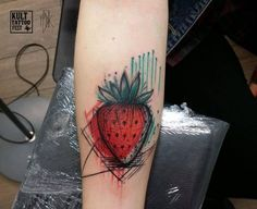 15 beautiful strawberry tattoos and their meanings ❖❖❖ #beautiful #meanings #strawberry #tattoos #their ❖❖❖ Strawberry tattoos are very nice pictures. For most, strawberry is a popular delicious fruit and I can say it's one of my favorite fruits. Some love the fruit because of their romantic tradition. No matter what it means for them Strawberry tattoos just look nice and fruity. Strawberries are compared to cherries and represent the fertile f...