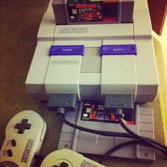 Super Nintendo. I am proud to say that I have this at home :)