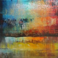 "Josiane Childers at Mirada Fine Art, Moment II, Original Acrylic on Canvas, 24"" x 24"""