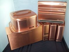 the ultimate - Vintage LINCOLN BEAUTYWARE COPPER set