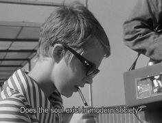Jean Seberg in Breathless (Jean Luc Godard, 1960)