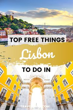 Visiting sunny Lisbon? Then don't miss out on these 13 Completely free things to in Lisbon Portugal - perfect to round out your Lisbon Travel Itinerary! #lisbon #lisbontravel #portugal Portugal Vacation, Portugal Travel Guide, Europe Travel Guide, Spain Travel, Travel Guides, European Travel Tips, European Vacation, Spain And Portugal, Lisbon Portugal